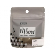 Embossing Powder - Mboss - Pó de Emboss Gold
