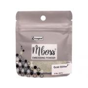Embossing Powder - Mboss - Pó de Emboss Gold Glitter