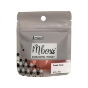 Embossing Powder - Mboss - Pó de Emboss Rose Gold
