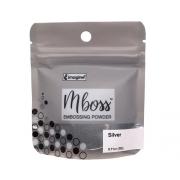 Embossing Powder - Mboss - Pó de Emboss Silver