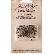 Hex fasteners Tim Holtz- IDEA -OLOGY-30 un
