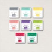 Kit de Mini StampinUp Spot - 10 cores sortidas