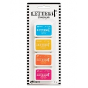 Mini Carimbeira Archival Ink Letter It - Kit com 4 - LEI62936