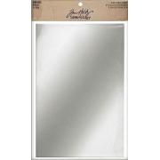 Papel Espelho Tim Holtz 15 x 23 cm - 2 Folhas