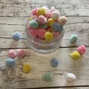Pompom Colorido Tom Pastel - 5 gramas