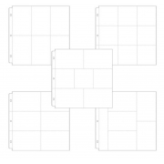 Protetor de Paginas Scrapbook.com 30x30 cm - 12x12 in - Kit com 10 Embalagem Sortida - Project Life - Kit 1