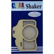 Shaker Madeira- Clear Scraps-Camera