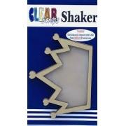 Shaker Madeira- Clear Scraps- Coroa
