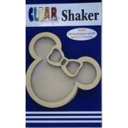 Shaker Madeira- Clear Scraps- Minnie