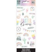 Stickers- Big Ideas - Pastel Dreams