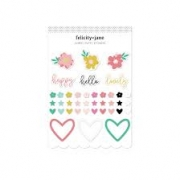 Stickers- Felicity Jane- Happy
