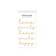 Stickers- Felicity Jane- Love