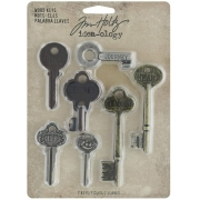 Tim Holtz Idea-ology Chaves - Adorno