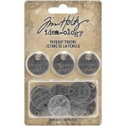 Tokens-Idea Ology Tim Holtz - Thought Tokens