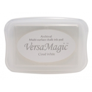 Versa Magic Tsukineko - Cloud White - Branco - Branca- VersaMagic