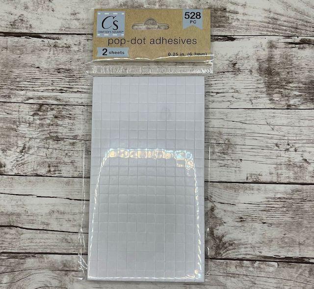 Adesivo Dots Quadrados - Crafter's Square 528 Pcs