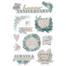 Adesivo La Petites 3D - Anniversary