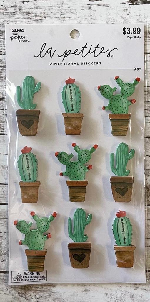 Adesivo La Petites 3D - Cactus