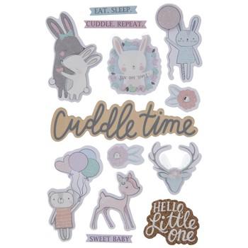 Adesivo La Petites 3D - Cuddle Time