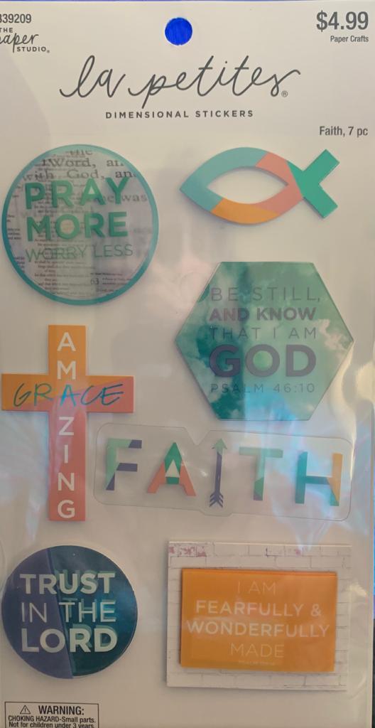 Adesivo La Petites 3D - Faith