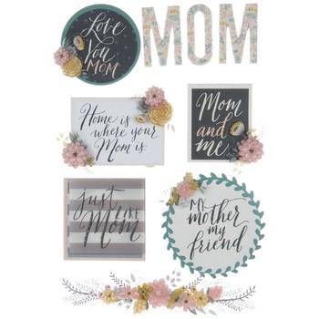 Adesivo La Petites 3D - Love You Mom
