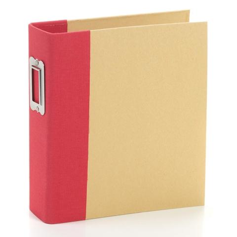 Álbum Snap Completo Simples Stories -   6x8 SN@P! Binder Red - Inclui Plásticos e Snapcards