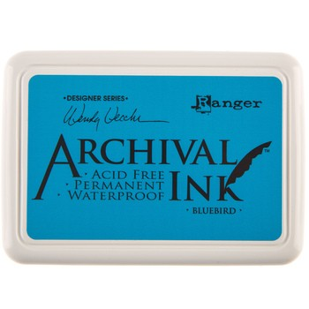 Carimbeira Archival Ink - Blue Bird