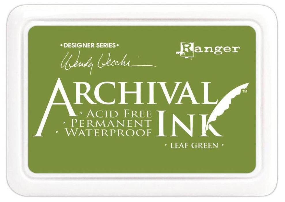 Carimbeira Archival Ink - Leaf Green