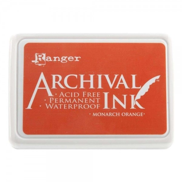 Carimbeira Archival Ink - Monarch Orange