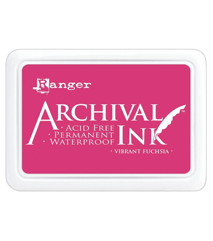 Carimbeira Archival Ink - Vibrant Fuchsia