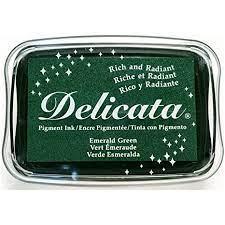 Carimbeira Delicata Metálica - Emerald Green