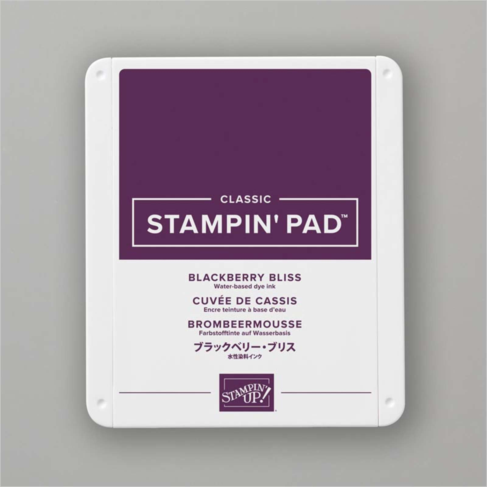 Carimbeira StampinUp - Blackberry Bliss