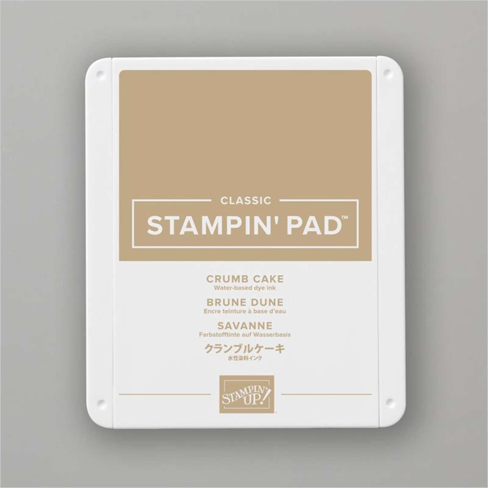 Carimbeira StampinUp - Crumb Cake