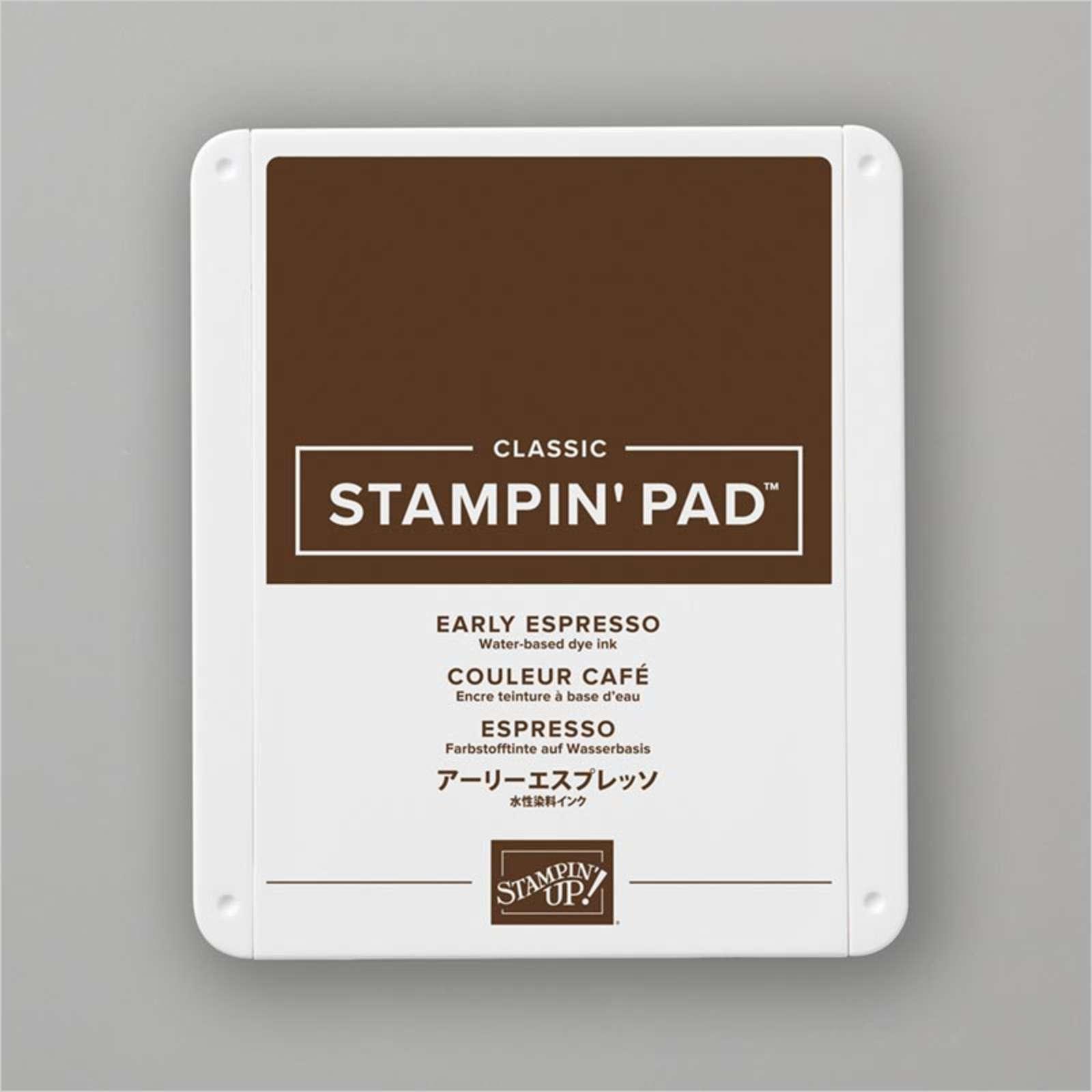 Carimbeira StampinUp - Early Espresso