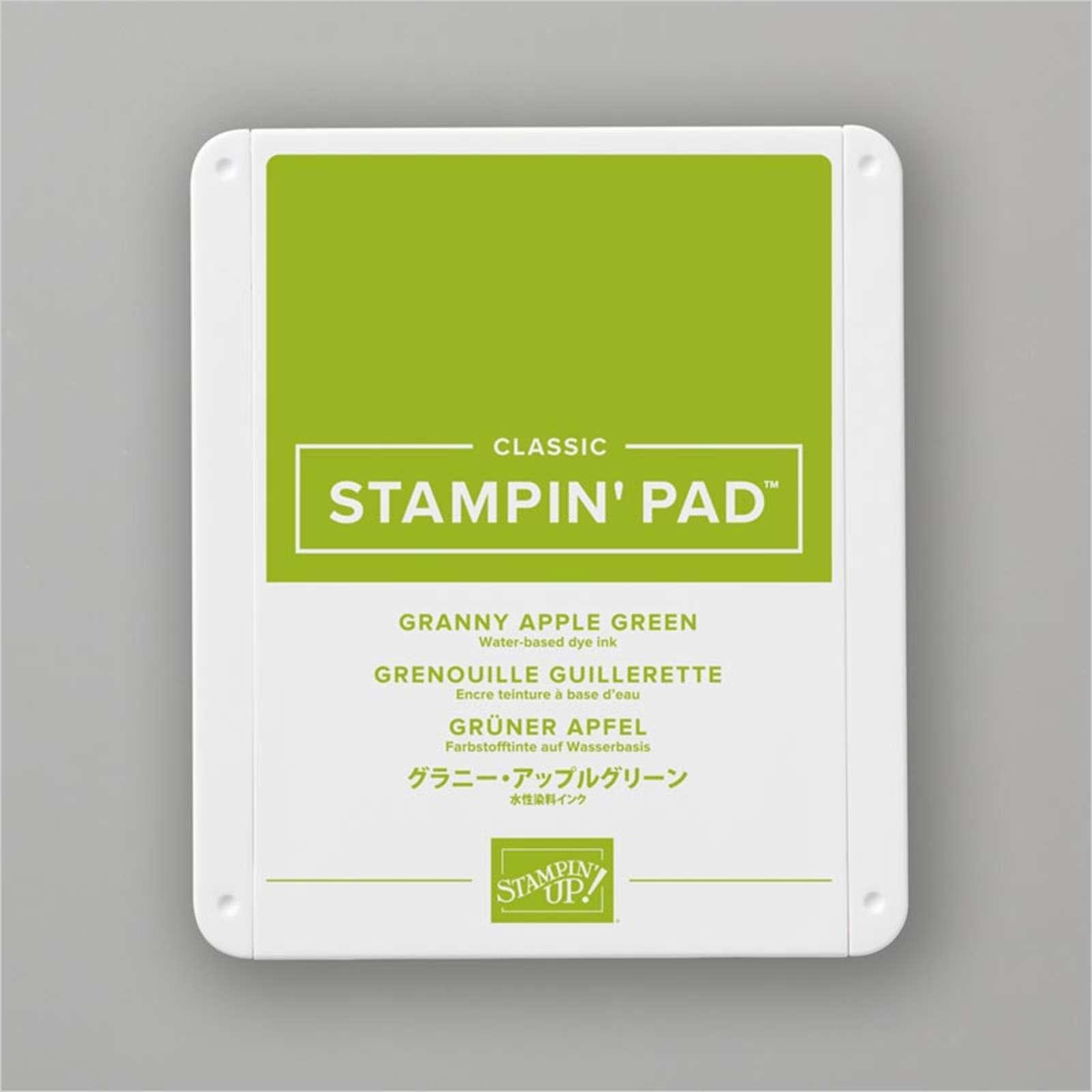 Carimbeira StampinUp - Granny Apple Green