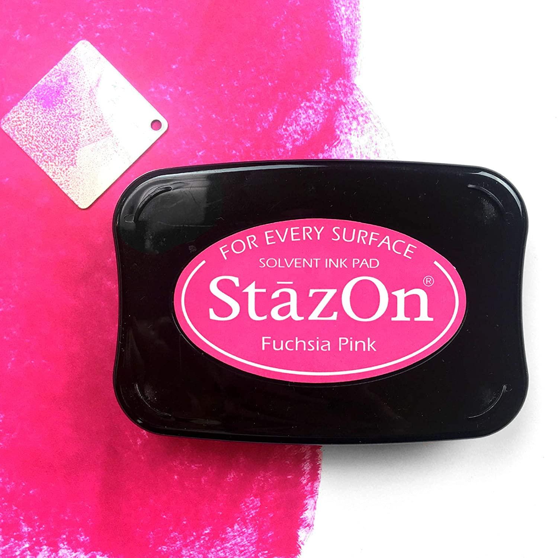Carimbeira StazOn Tsukineko - Fuschsia Pink - Rosa