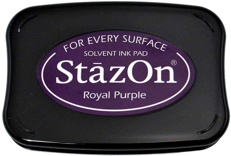 Carimbeira StazOn Tsukineko - Royal Purple - Roxo