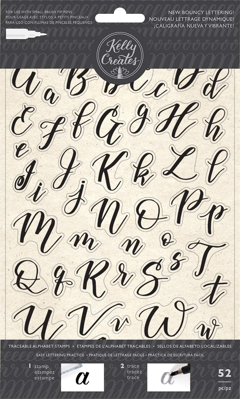 Carimbo Alfabeto - Kelly Creates