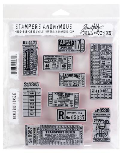 Carimbo Tickets - Tim Holtz