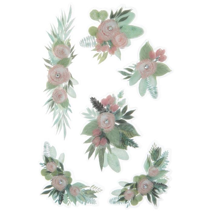 Adesivo La Petites 3D - Flores dimensional stickers