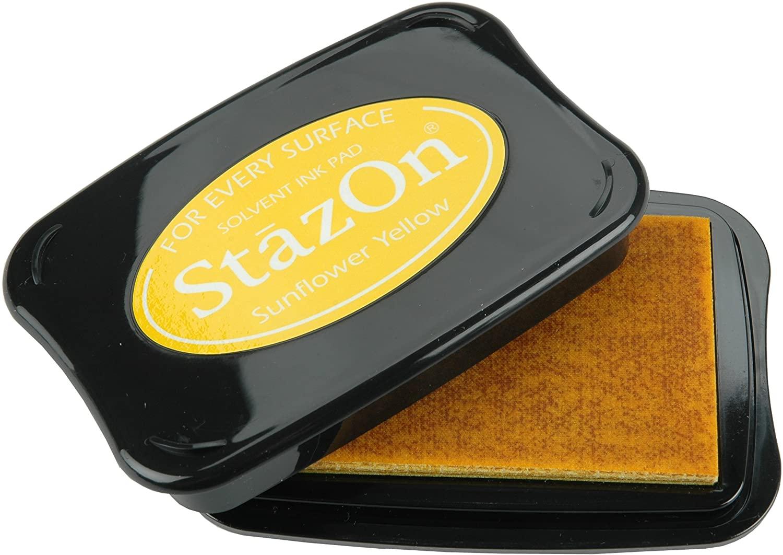 Carimbeira StazOn Tsukineko - Sunflower Yellow - Amarela