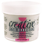 Creative Medium - Pasta Transparente com Glitter