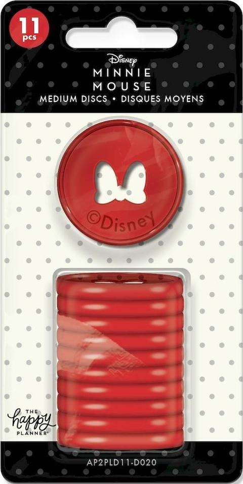 Disco de Planner - Minnie Mouse - The Happy Planner - Médio