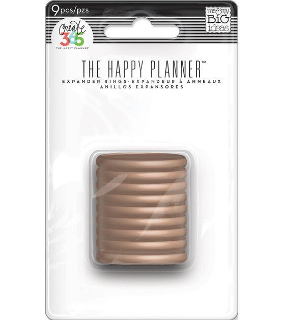Discos Médio Rose Gold - The Happy Planner - 9 unidades
