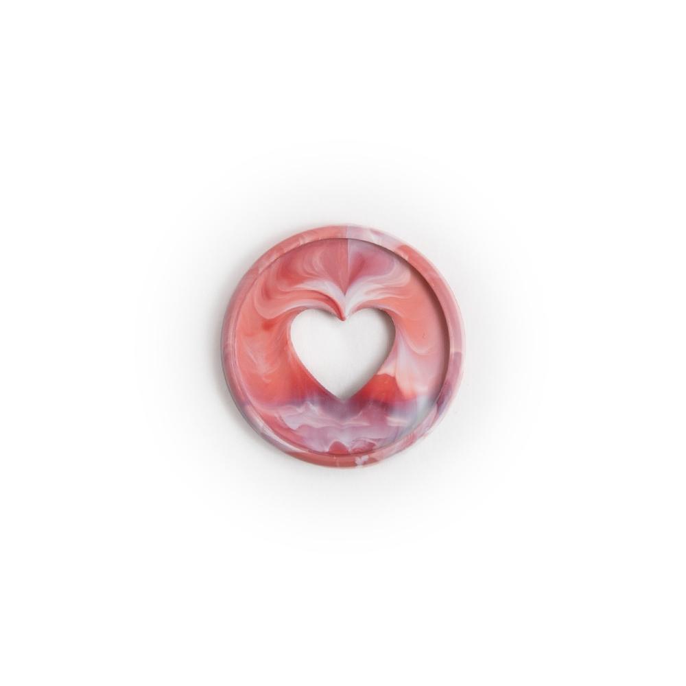 Discos Pequeno Rosa Mesclado - The Happy Planner - 11unidades