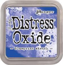 Distress Oxide - Tim Holtz -Blueprint Sketch