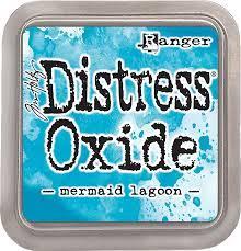 Distress Oxide - Tim Holtz - Mermaid Lagoon (azul)