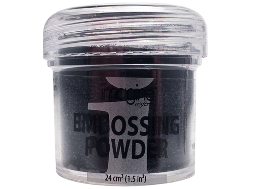 Embossing Powder - Imagine - Pó de Emboss Black - Preto