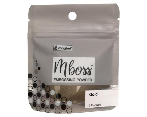 Embossing Powder - Mboss - Pó de Emboss Gold