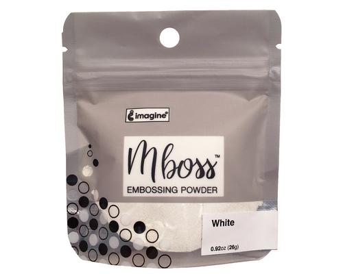 Embossing Powder - Mboss - Pó de Emboss White